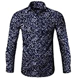 Camisa de manga larga para hombre Jaminy Retro Viaje Médival Camisa Camisa Otoño Invierno Impresión Gays...