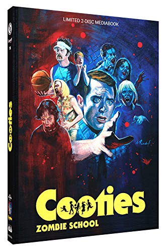 Cooties - Zombie School - Mediabook - Cover A - Limited Edition auf 250 Stück - Uncut (+ DVD) [Blu-ray]
