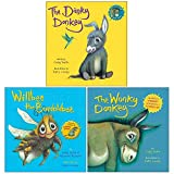 The Dinky Donkey, Willbee the Bumblebee, The Wonky Donkey 3 Books Collection Set