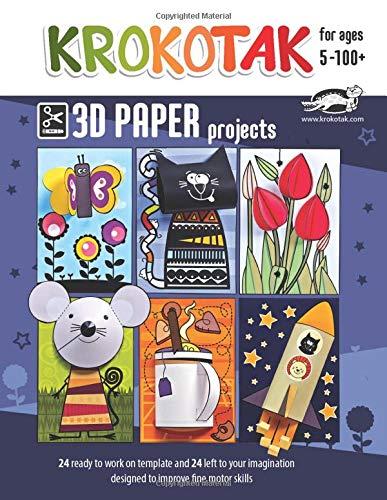 KROKOTAK 3D PAPER PROJECTS (PAPER CRAFT)