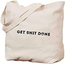 Canvas hand bag - Get Shit Done-2 - tote bag,shopping bag,beach bag - fashion bag - 14.5x15.5in
