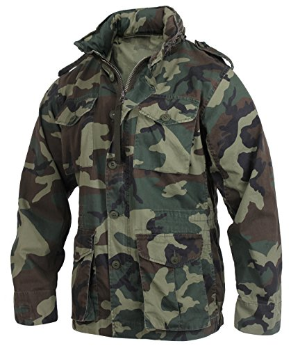 Rothco Camo Shell Jackets Men Color Desert
