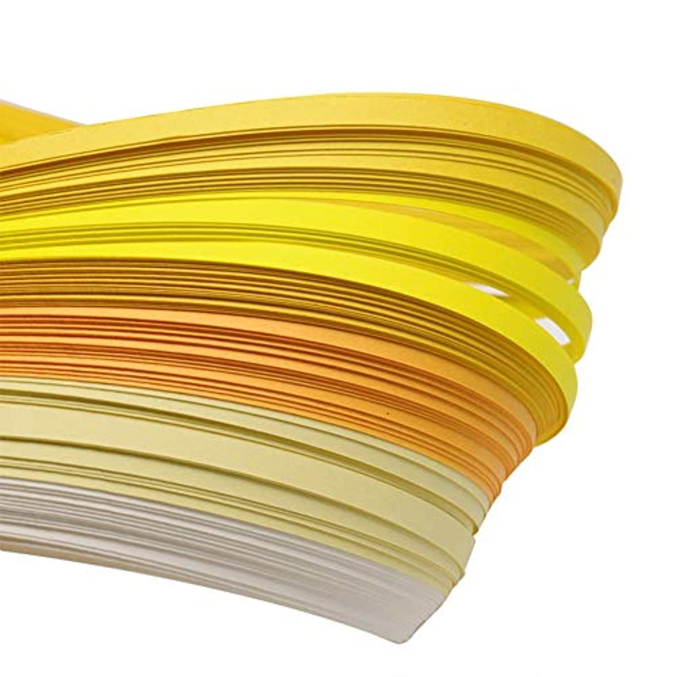 ARRICRAFT 10 Bag Quilling Paper Strips 5mm Paper Quilling Kits 6 Colors Quilling Art Strips, About 120strips/bag, 20strips/Color