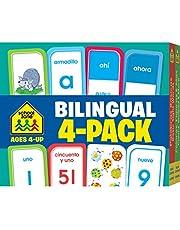 Bilingual Spanish/English (Flash Card 4-pk)
