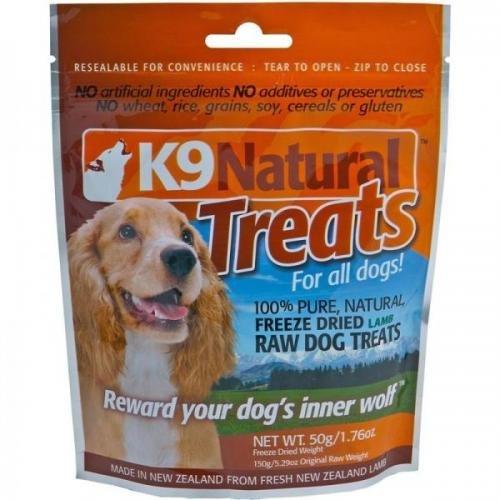 K9 Natural Lamb 50g Treats Pack, Nassfutter, Hundefutter