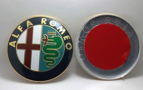 Alfa Romeo AR 01 Emblema con Logo, 74mm Ø