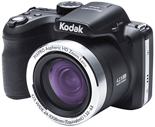 Kodak AZ422, Bridge Camera 20Mp 1/2.3' Ccd 5152 X 3864Pixels, Nero