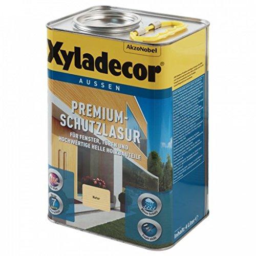 Xyladecor Premium Schutzlasur Dickschicht-Lasur 4 L Farbwahl, Farbe:Kiefer