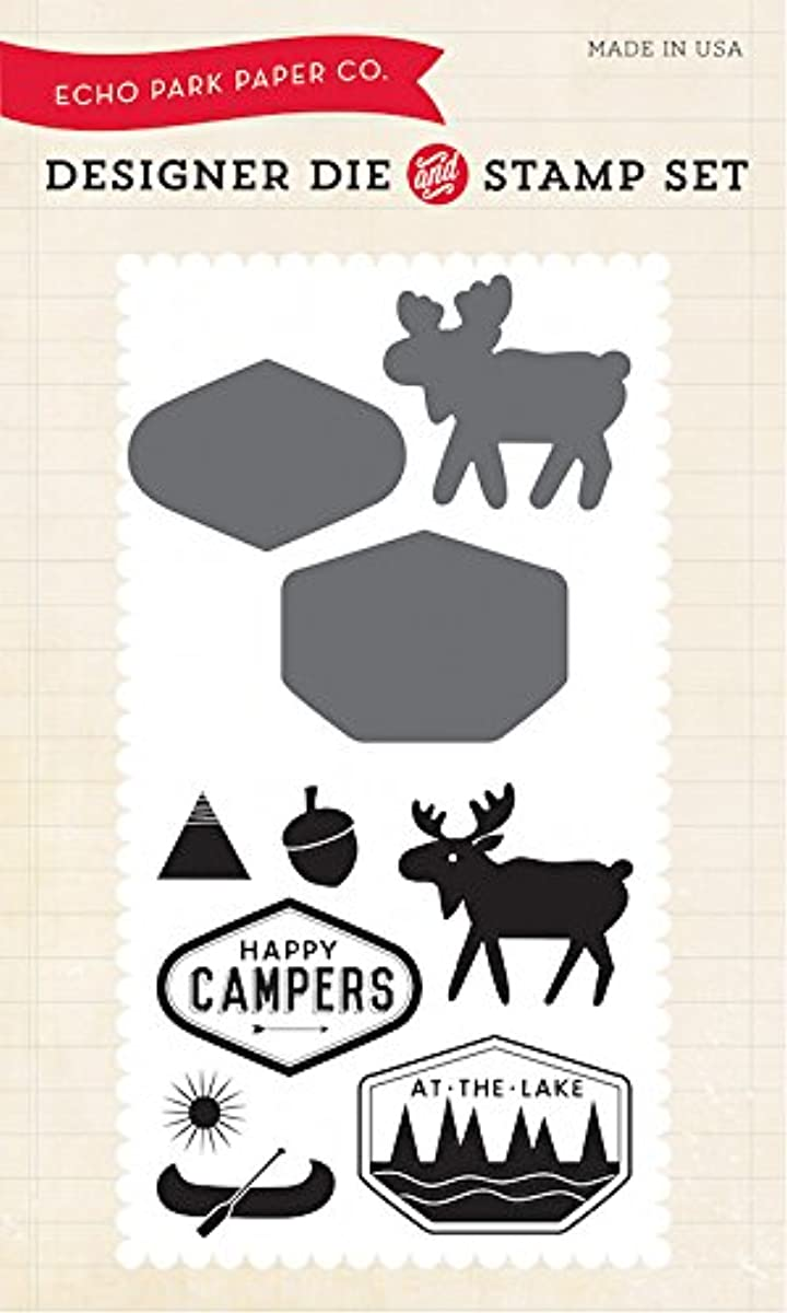 Echo Park Paper Company Happy Camper Die & Stamp Set