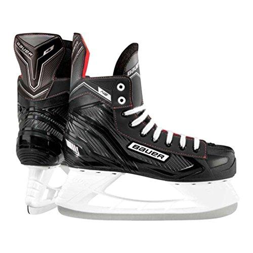 Eishockey-Schlittschuhe von Bauer, NS 42 schwarz / rot