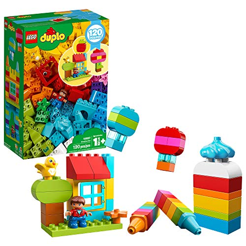 LEGO DUPLO Classic Creative Fun 10887 Building Kit, New 2020 (120 Pieces)
