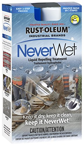 Rust-oleum 27518514oz NeverWet uso industrial líquido repelente Tratamiento spray Kit