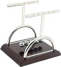 Homyl 3 Tamanhos Em Forma De T Berço De Newton Bolas De Equilíbrio Ciência Física Pêndulo Brinquedo - Médio