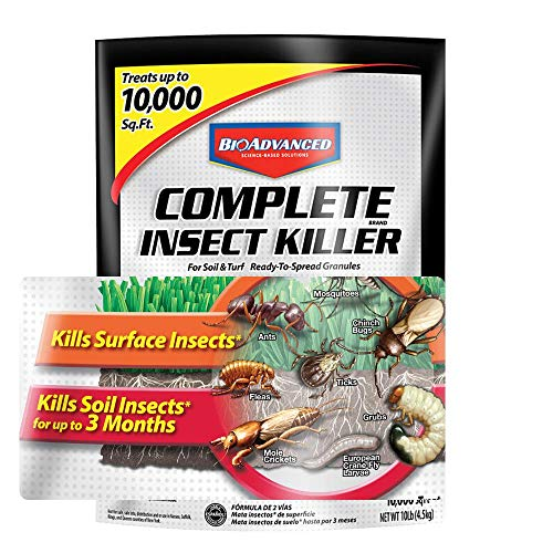 BioAdvanced 700288S Insect Killer for Soil & Turf Complete Pest Control, 10-Pounds