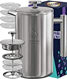 French Press Coffee Maker Stainless Steel (1750ml)