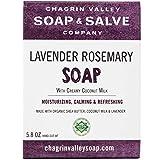 Organic Natural Soap Bar, Lavender Rosemary, Chagrin Valley Soap & Salve