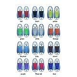 Leezo No Tie Schnürsenkel für Kinder und Erwachsene Stretchy Silikon Tieless Laufschuh Schnürsenkel für Athletic & Dress Schuhe Wanderschuhe - 13 Farben