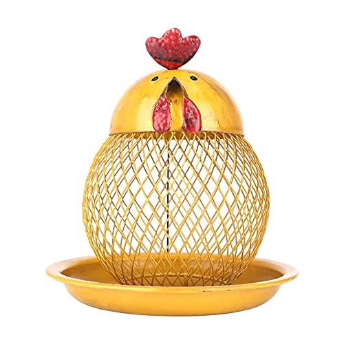 xldiannaojyb Alimentador de pájaros con Forma de Polla Alimentador de pájaro Salvaje Moderno Hecho a Mano Handmade Craft Colgando para decoración al Aire Libre Decoración de jardín (Color : Yellow)
