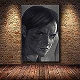 YYAYA.DS Impresión de Lienzo Póster del Juego The Last of Us impresión de Zombie Supervivencia...