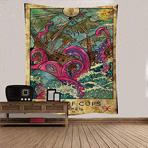 DSman Tapestry,Colgar en la Pared, Tela de Fondo de Dormitorio de Tapiz Decorativo de Tela Colgante