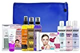 Set de regalo de spa con productos de baño, caja Perfect Pamper, regalo de belleza para ella con champú, aceites capilares, gel de baño, tónico facial, crema para manos, leche de limpieza facial (1)