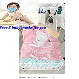 Suaves mantas-bebés recién nacidos, antibacteriano e hipoalergénico bebé...
