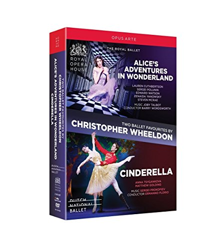 Two Ballet Favourites by Christopher Wheeldon - Alice's Adventures in Wonderland / Cinderella (2011-2012) (2-DVD Box Set) (NTSC)