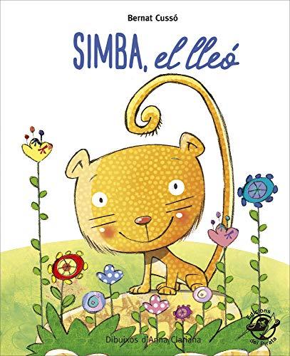 Simba, El Lleó: En lletra de PAL i lletra lligada: Llibre infantil per aprendre a llegir en català: 5 (Plou i Fa Sol (TEXT EN LLETRA DE PAL I LLIGADA))