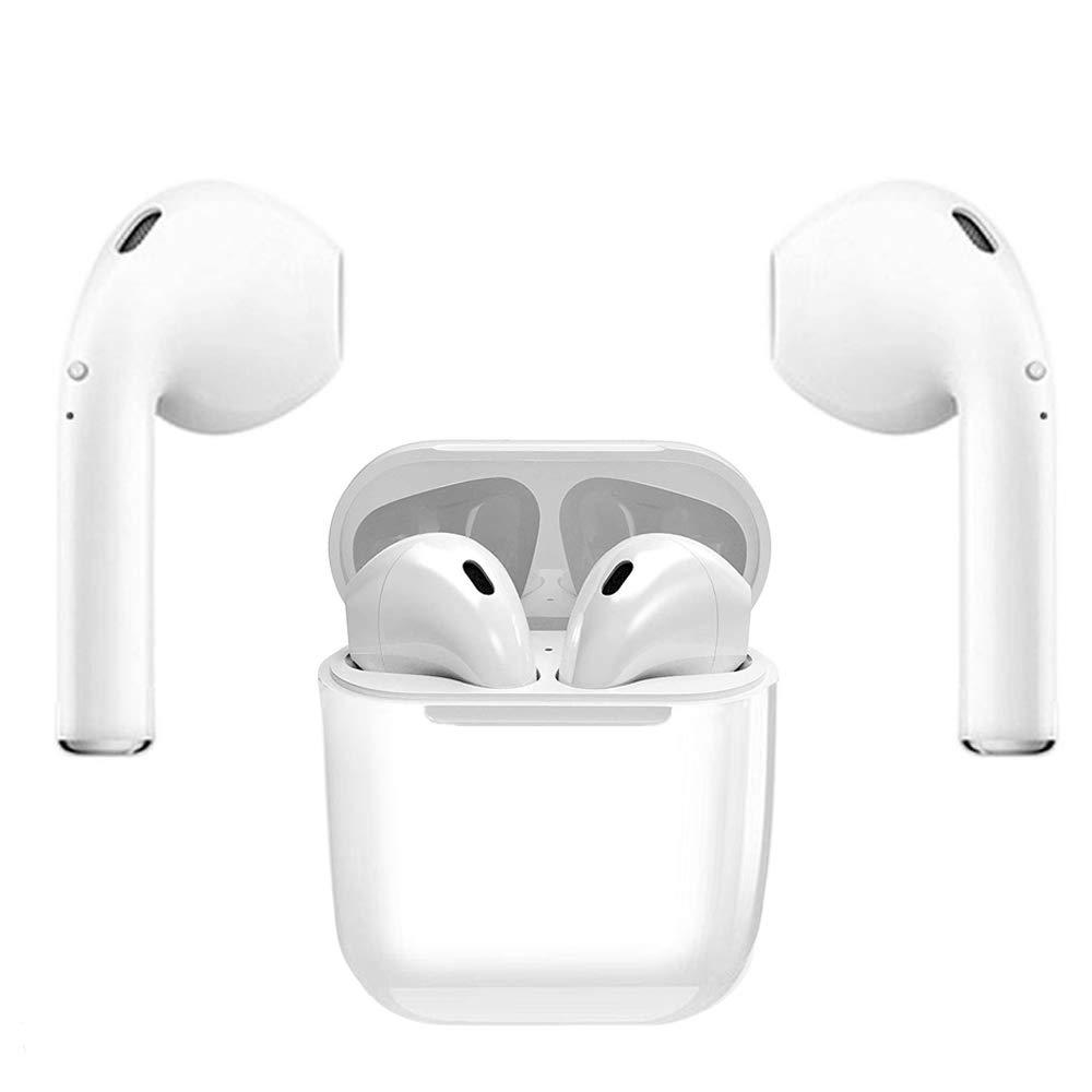 Auriculares Bluetooth, Auriculares Inalámbricos Auriculares Bluetooth 4.1 InEar Auriculares Auriculares Estéreo In-Ear Micrófono Manos Libres Incorporado para Apple Airpods Android/iPhone: Amazon.es: Electrónica