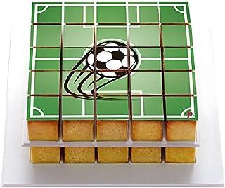 26b8f1fcf29b5 Pixcake - Déco Gâteau Foot - Décoration Gâteau Foot à Coller et à Déguster  - Pixdeco en Sucre Ballon de Football - Déco Anniversaire Foot - Sans  Gluten, ...