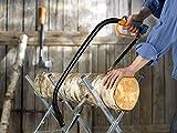 Fiskars Bügelsäge mit feststehendem Blatt für feuchtes Holz, Länge: 61 cm (24 Zoll), Inklusive Sägeblattschutz, Hochwertiger Stahl, Schwarz/Orange, SW31, 1000615 - 2