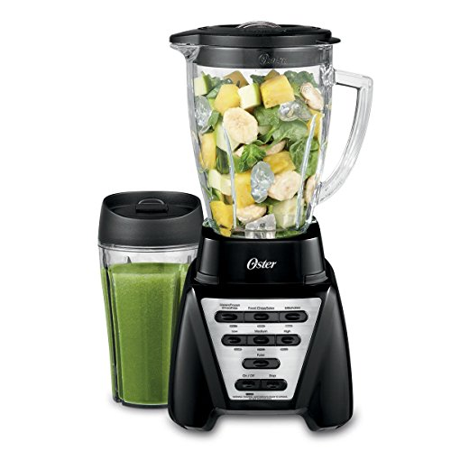 Oster Pro 1200 Plus Smoothie Cup - Black - Glass Jar BLSTMB-BBG-000