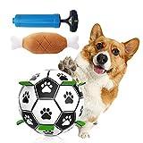 Fútbol para Perros,Juguetes de Inteligencia de fútbol para Perros,Bola interactiva para Perros,Bola del Juguete del Perro,Juguete Interactivo para Perros,Juguete para Perros