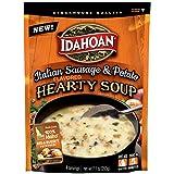 Idahoan Italian Sausage & Potato Hearty Soup, Made with Gluten-Free 100-Percent Idaho Potatoes, 7.1...