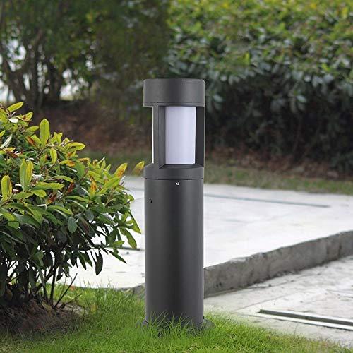 Lámpara de mesa al aire libre moderna simple Lámpara de pie Ip54 Impermeable Villa Jardín Luces de paisaje Lámpara de césped E27 Iluminación de decoración Lámpara de columna de luz de poste de calle