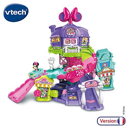 VTech - TTB-Le Monde Encanto de Minnie Tot BOLIDES-Mickey & Sus Amigos 80-521805, Multicolor