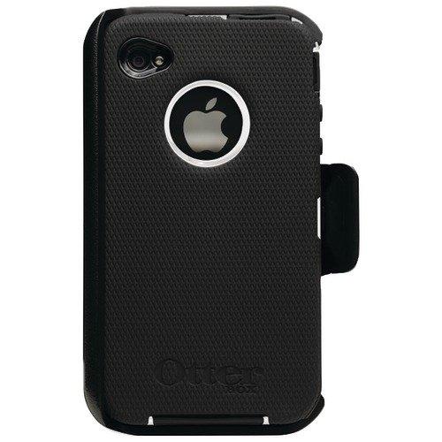 OtterBox Defender Series Case für Apple iPhone 4 schwarz/weiß