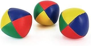 Sanwooden Not Only Happy 3Pcs Juggling Balls Classic Bag Juggle Magic Circus Beginner Children Toy Gift