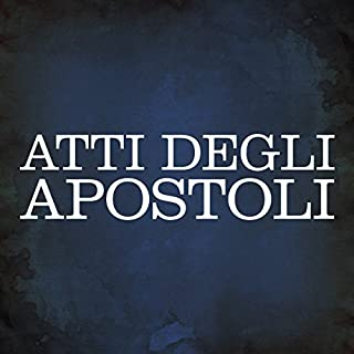 Atti degli Apostoli copertina