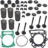 Top Notch Parts Replacement Cylinder Head Rebuild Valve Seal Spring Kit Valve Assembly For 2001-2005 Yamaha Raptor 660 R YFM 660 R FREE FEDEX 2 DAY SHIPPING