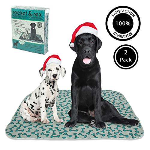 rocket & rex Washable, Reusable, Pet Training, and Puppy Pads