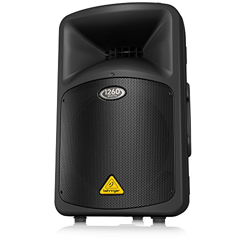 Behringer EUROLIVE B912NEO DSP-Controlled 1,200-Watt 12-inch PA Speaker System with Neodymium Speakers and Integrated Mixer
