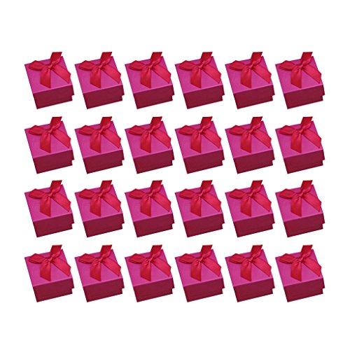 D DOLITY 24Unidades Días Festivos Caramelos Dulces de Regalos Pequeños DIY Pequeñas Cajas de Regalo