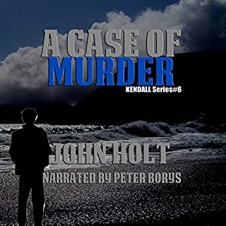 A Case Of Murder audiobook cover art