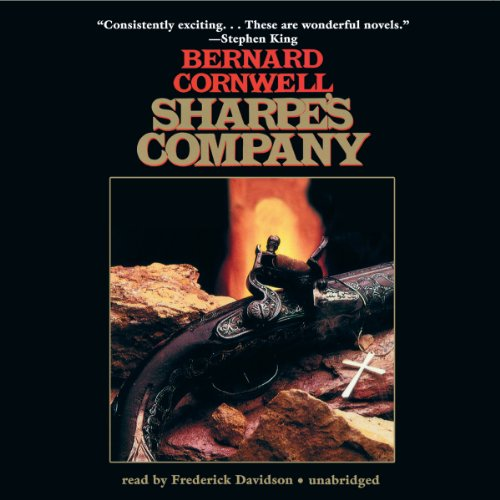 Sharpe's Company audiobook cover art