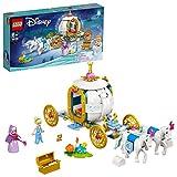 LEGO Disney Princess La Carrozza Reale di Cenerentola con 2...