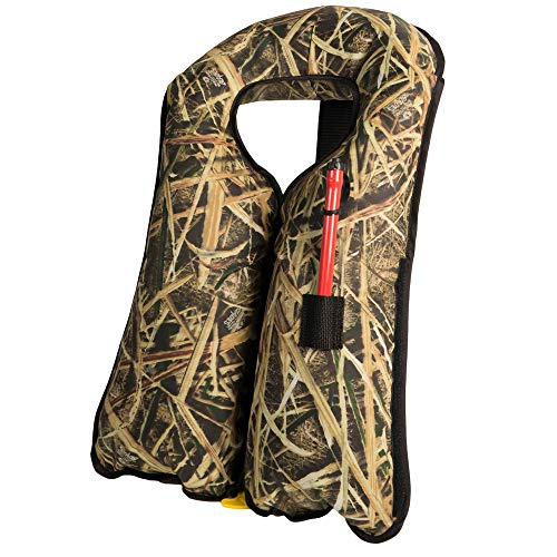 Mustang Survival - M.I.T. 100 Automatic Inflatable PFD - Mossy Oak Shadow Grass Blades, One Size Fits All