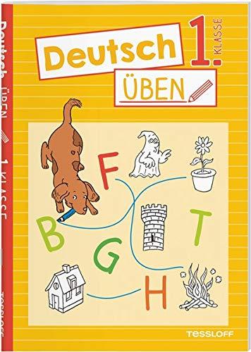 Deutsch üben 1. Klasse: Alphabet und erste Wörter, lesen und schreiben lernen