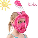 Usnork Full Face Snorkel Mask for Kids and Adults...