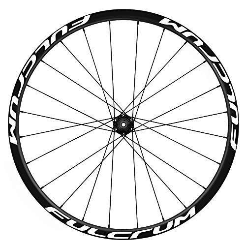 Pegatinas Llantas Bicicleta 29' WH43 Fulcrum VINILOS Ruedas Blanco